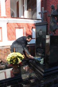 Председатель Отдела внешних церковных связей Московского Патриархата посетил наш приход