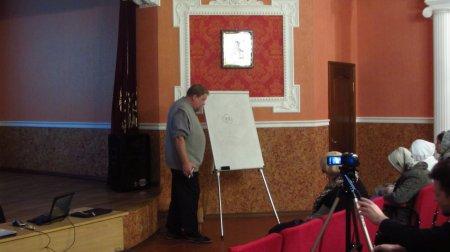 В актовом зале нашего храма прошли лекции известного московского археолога Н.Е. Гайдукова