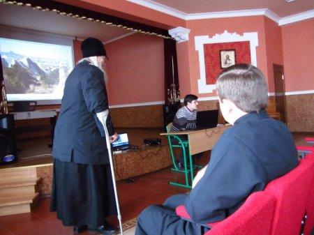 Шестая публичная лекция эллино-византийского лектория при Свято-Пантелеимоновском храме