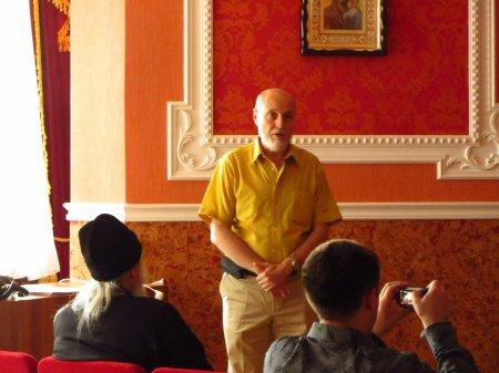 Заключительная публичная лекция эллино-византийского лектория при Свято-Пантелеимоновском храме