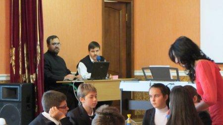 Что? Где? Когда? между сборной командой нашей Воскресной школы и сборной Харьковской епархии