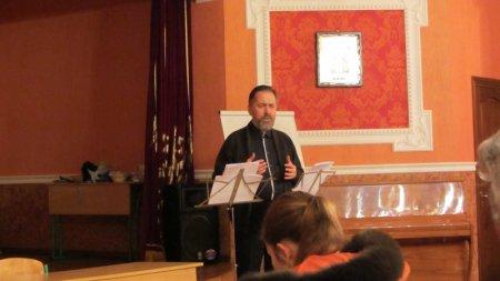 Одиннадцатая публичная лекция эллино-византийского лектория при Свято-Пантелеимоновском храме